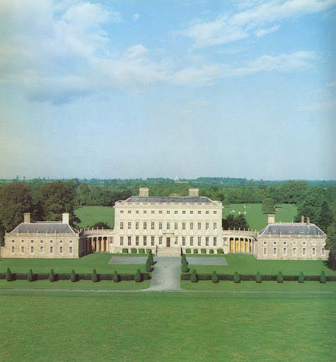 A view of Castletown, the first great Palladian house to have been built in Ireland.