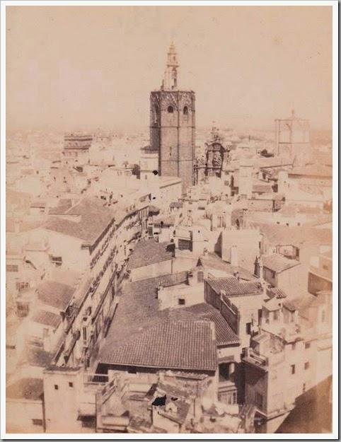 calle zaragoza y Miguelete 1900