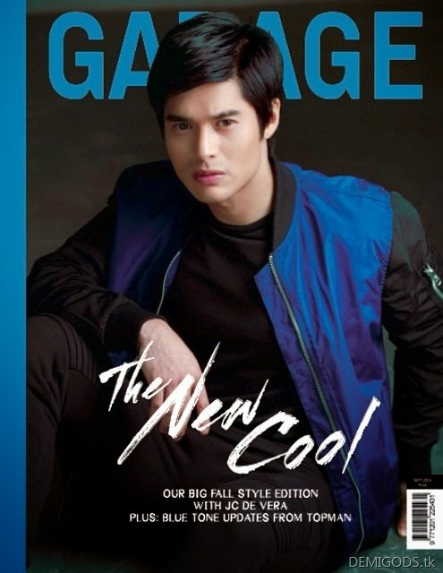 JC de Vera Garage Magazine September 2014