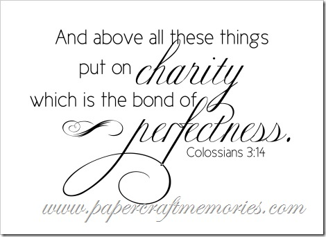 Colossians 3:14 KJV for personal use