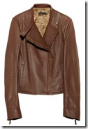 The Row Textured Leather Biker Jacket