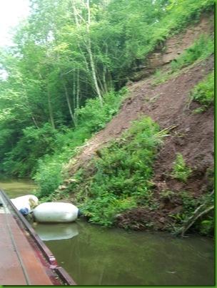 005  A landslide