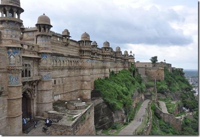 gwalior 030 palais de Man Singh porte Est