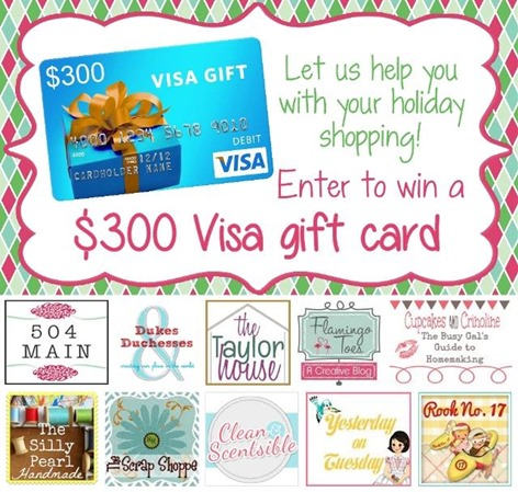 Visa Gift Card Giveaway - The Silly Pearl