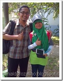 Bersama Siswa Kreatif, Peserta  Festival Lomba Seni Siswa Nasional, FLS2N dari Riau