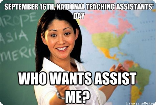 national teaching assistant's day 2