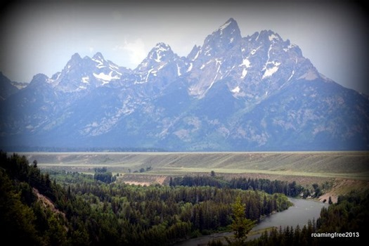 Grand Teton and Snake River
