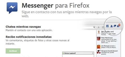Messenger para Firefox