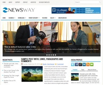 NewsWay-Blogger-Template