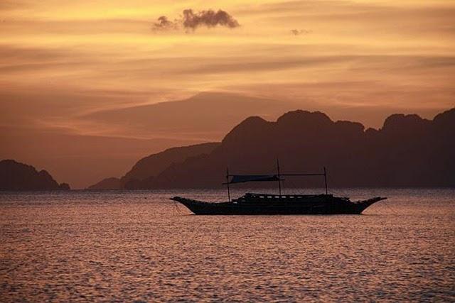 Tramonto El Nido Isola di Palawan