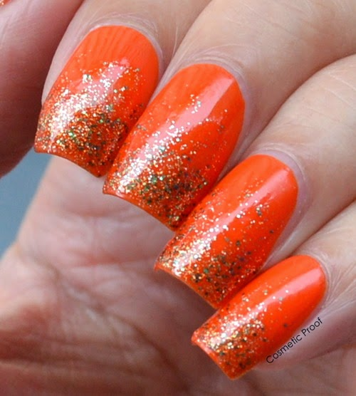 Sally Hansen Triple Shine Taheati and Sparktacular Gradient (2)