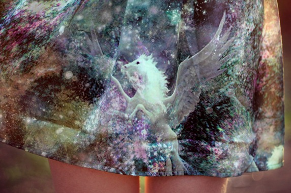 MINKPINK PEGASUS  GALAXY DRESS