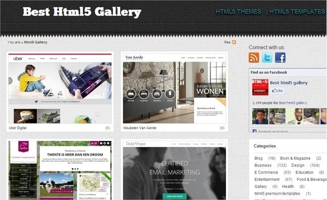 13 galerías web sobre CSS para encontrar inspiración 13