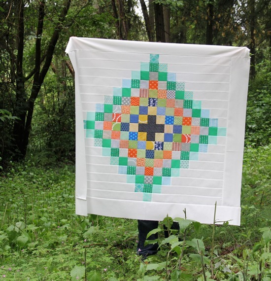 Chippewa Baby Quilt, Cluck Cluck Sew