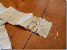 drop cloth ruffled pillow how to 8