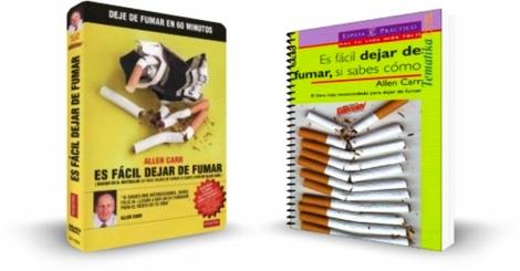 ES FÁCIL DEJAR DE FUMAR, Allen Carr [ Libro + Video DVD ] – El programa más eficaz del mundo para dejar de fumar con el método Easyway