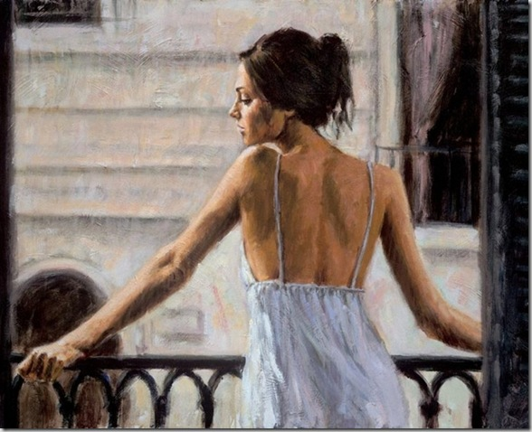 Fabian Perez 1967 - Argentine Figurative painter - Reflections of a Dream - Tutt'Art@ (36)