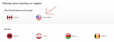 Change country in iTunes - mobilespoon