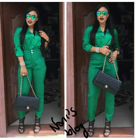 Tonto Dike stuns in her $3k Channel Classic bag and new Look.