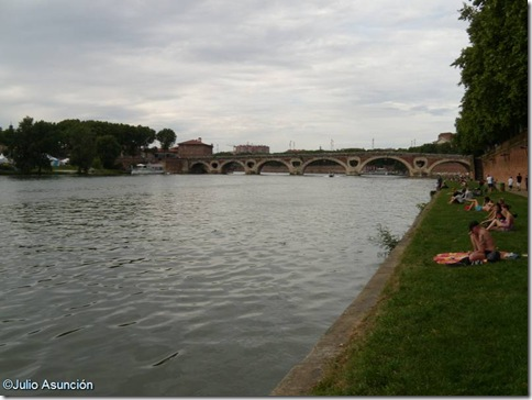 riberas del Garona - Toulouse