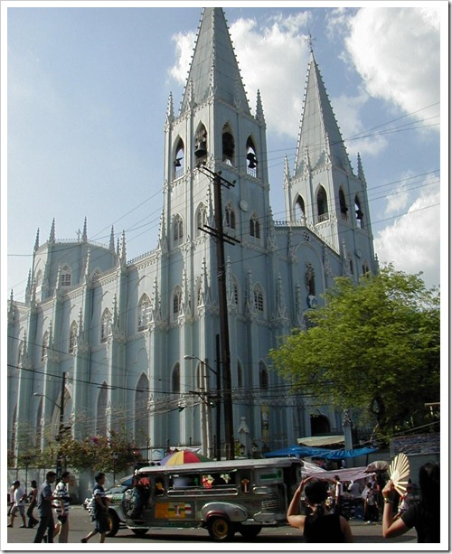 San Sebastian Church, Manila Today