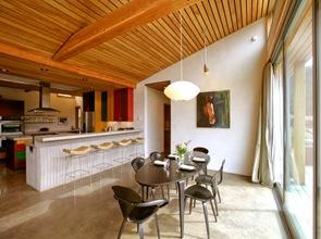 Decoracion interior cocina rustica