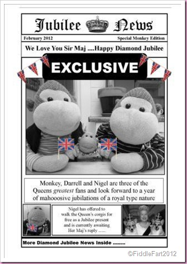 Newpaper Newsprint Bag Diamond Jubilee
