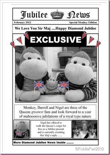 Newpaper Newsprint Bag Diamond Jubilee