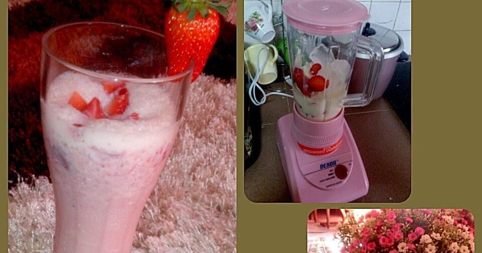 how to make strawberry milkshake homemade