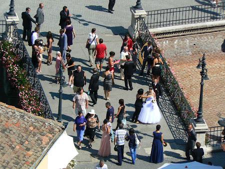 Traditii romanesti: nunta pe Podul Minciunilor Sibiu