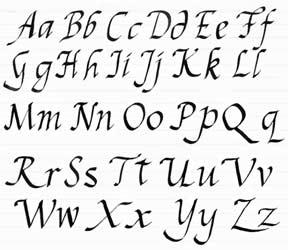 Publicat de B i a n c a la 09 08 Niciun comentariuCursive Calligraphy Writing