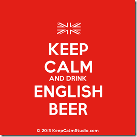KeepCalmDrinkEnglishBeer