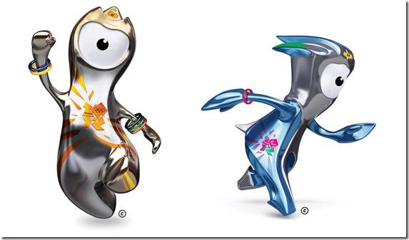 Mascotes Olimpíadas 2012