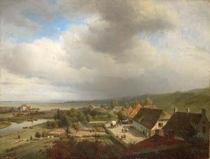 RIJKS: Abraham Johannes Couwenberg: painting 1844