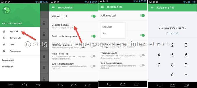 impostazioni-app-lock