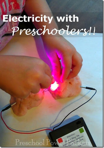 Electricity with Preschoolers #preschool #scienceisfun #homeschool #education
