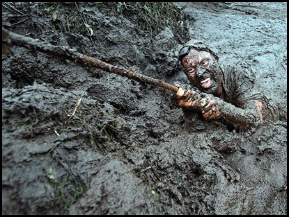 BRITAIN-OFFBEAT-MUD RACE