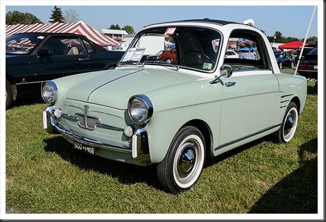Ron Keene's 1960 Fiat Autobianchi