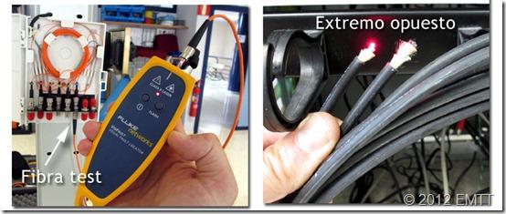 VFL localizando cable