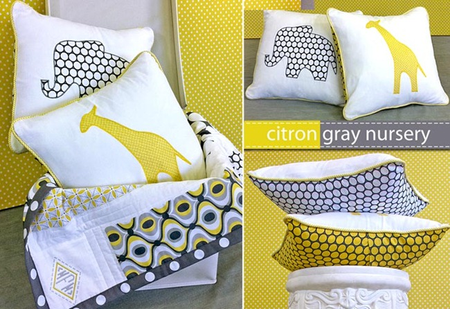 animal applique pillow tutorial
