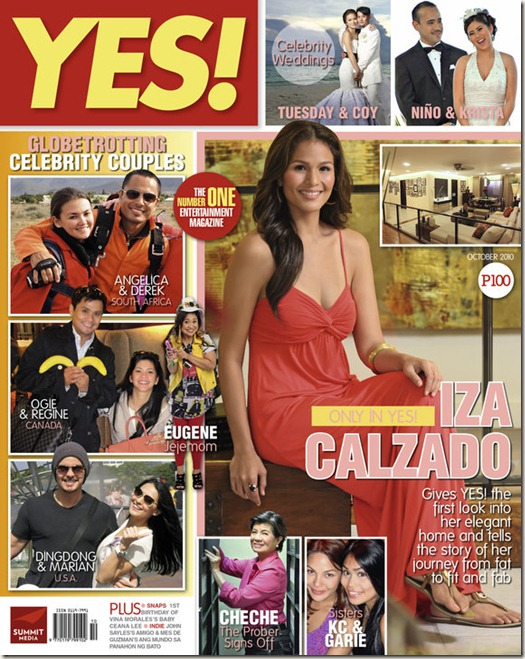 Iza_Calzado_YES_Magazine_October-2010_Cover