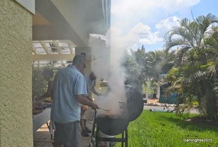 Alittle bit of smoke