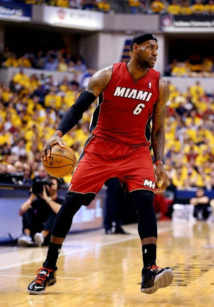 lebron james nba 140518 mia at ind 23 game 1 Balanced Pacers Drop LeBron and the Heat in Series Opener