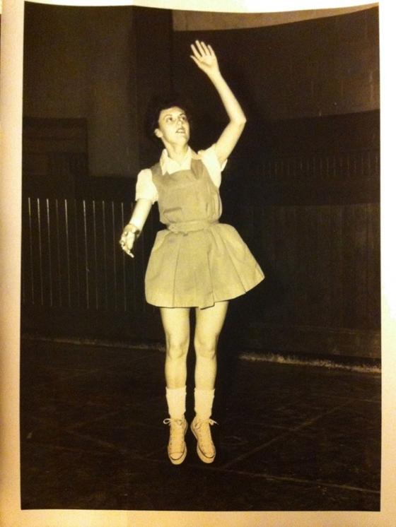 Фото девушки баскетболистки середины прошлого века