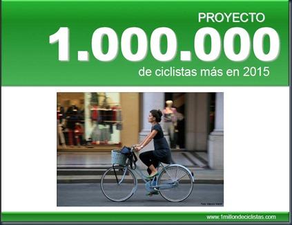 un millón de ciclistas