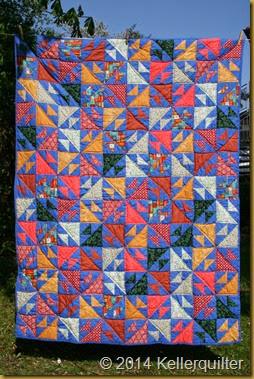 Quilt131-Fische-Mystery