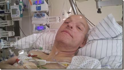 Am Abend nach der Operation auf der Intensivstation