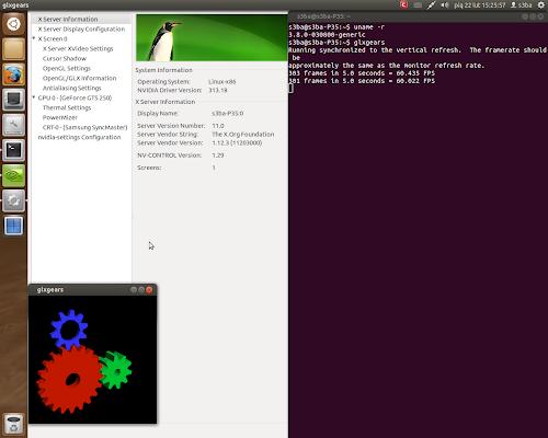 Nvidia 313.18 su Ubuntu