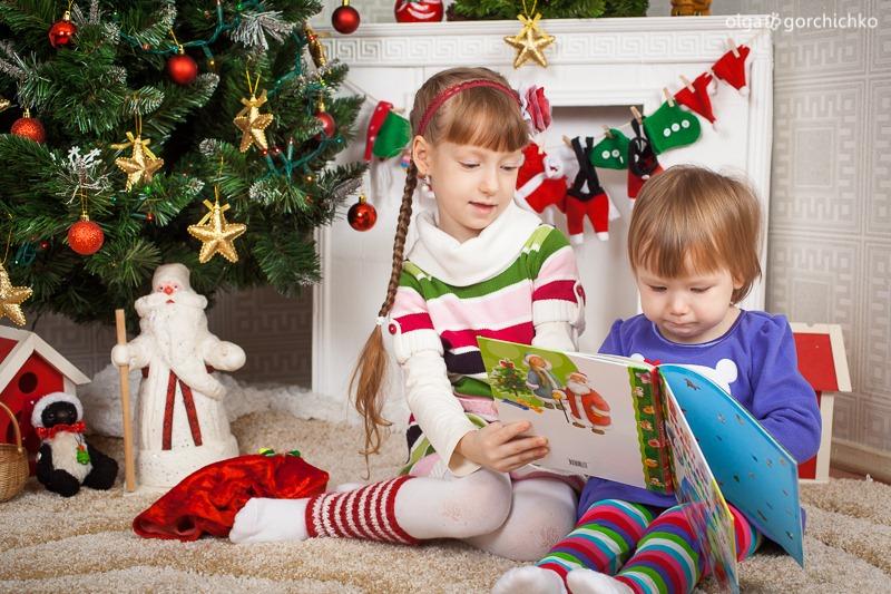 Детский новогодний фотопроект Рождественские мечты. 16. Аня и Саша Муреня-9280