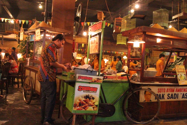 Food Stall at a Surabaya restaurant